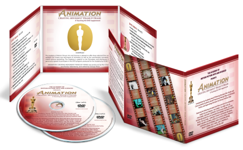 DVD Packaging for Academy of Motion Pictures