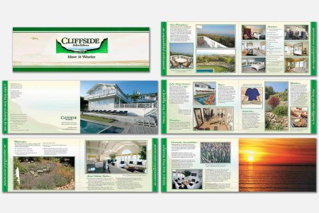 Brochure for rehabilitation facility