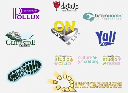A few of the many logos we've created