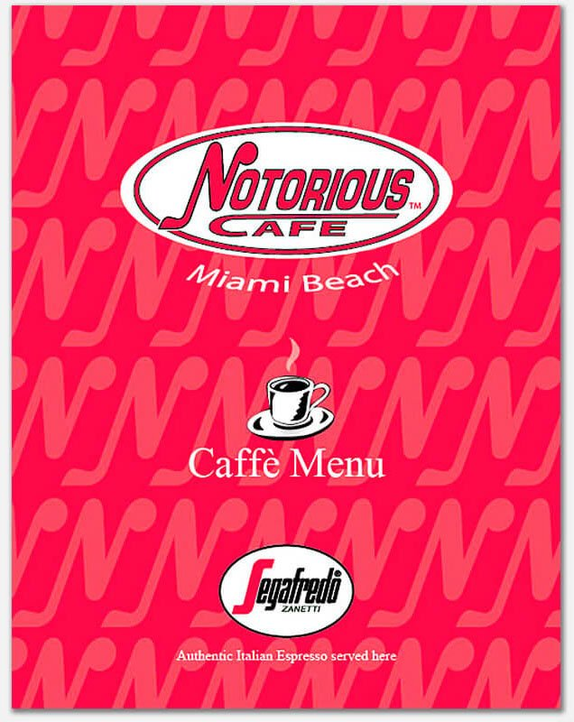 Logo, Branding and Menu Cover for cafe